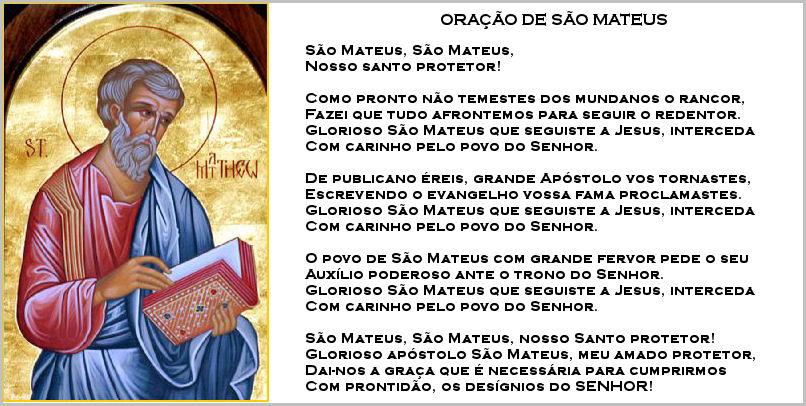 Oração de São Mateus